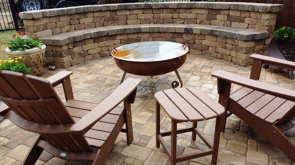 Updating a Concrete Patio