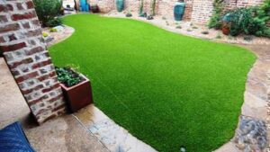 Installed Artificial Turf Instead of Grass