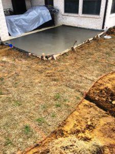 Concrete Patio Extension Prosper TX