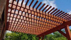 Cedar Pergola Construction