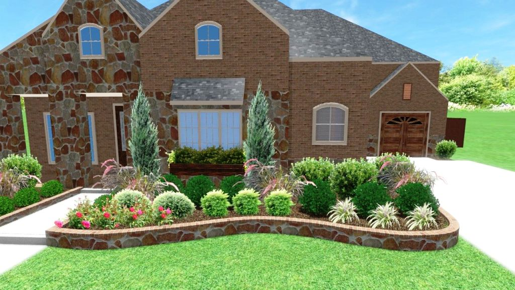Cost To Install Stone Landscape Edging, How To Build A Stacked Stone Garden Border