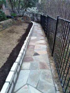 Flagstone Pathway