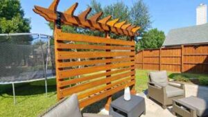 Freestanding Wood Arbor