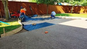 Installing Landscaping Fabric