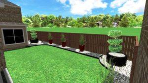 Modern Landscape Design in Small Yard