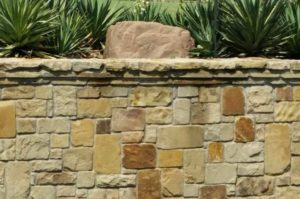 Mortar Landscaping Stone, Mortared Stone Flower Bed Wall