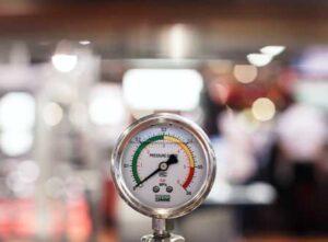 Sprinkler System Pressure Loss Gauge